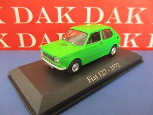 Die cast 1/43 Modellino Auto Fiat 127 Verde 1972