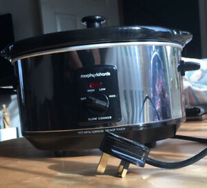 Morphy Richards 3.5l Oval Stainless Steel Slow Cooker