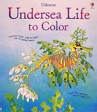 Usborne Adult Coloring Books Undersea Life to Color by Susan Meredith (Paperback