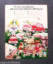 P630 - Advertising Pubblicità -1973- CHRYSLER SIMCA 1100 SPECIAL