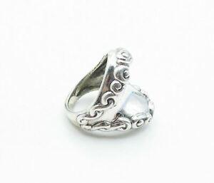 CAROLYN POLLACK RELIOS 925 Silver - Vintage Swirl Band Ring Sz 6.5 - R15998