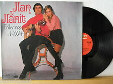 ★★ LP - ILAN & ILANIT - Folksongs der Welt - SR International 92 480