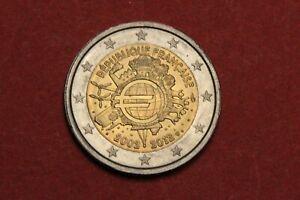 France : Pièce superbe de 2 euros 2012 10 ans de l'euro