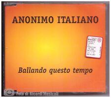 CDS ANONIMO ITALIANO - BALLANDO QUESTO TEMPO CDS 1998 BMG CD PERFETTO
