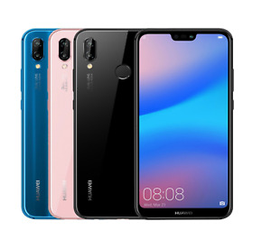 Huawei P20 Lite 32GB Unlocked 4G LTE Android Smartphone Pristine A+++