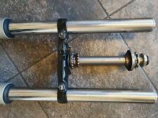 honda cbf250 cbf 250 front forks yoke legs vgc front end 04-09