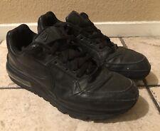Nike Air Max LTD Men's Running Shoes Black / Black - Black Bubble Size 9 US