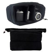 Shockproof DSLR Camera Lens Case Insert Cushion Partition Flexible Padded Bag
