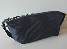 MAC Black Makeup Cosmetics Bag with Side Handles, Medium Size, Brand NEW!!