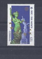 Cept 2006 ** 2573 Österreich 50 J, Europa Einzelmarke Postfrisch siehe scan