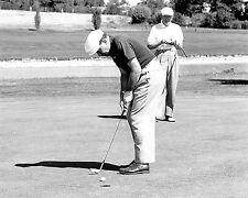 Richard Nixon (VP) & Dwight Eisenhower (P) golf photo