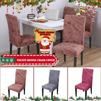 Universal Stretch Dining Chair Covers Slipcovers Wedding Home Seat Protector