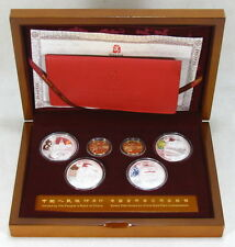 Beijing 2008 Olympics Gold & Silver Commemorative Coins Series II With Box & COA