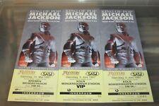 Michael Jackson - 3x Unused Concert Tickets / Cologne & Bremen 1997