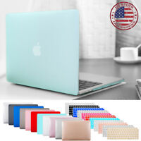 For MacBook Air 13.3 A1932 Rubberized Hard Shell Case Keyboard Cover Screen Film