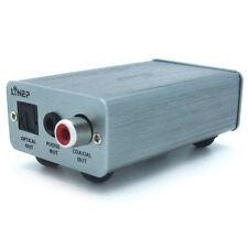 Décodeur Adaptateur Convertisseur USB Audio vers Optique + Coaxial + jack 3,5mm