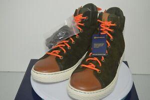 Polo Ralph Lauren Men's Delaney Sneaker Size 11 D Suede Leather Green