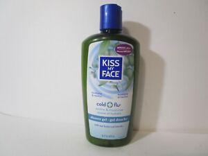 Kiss My Face Cold + Flu Shower Gel, Eucalyptus & Menthol 16 oz. New, FREE SHIP!