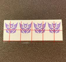 Decepticon logos for Fanstoys Thomas Astrotrain Masterpiece Transformers