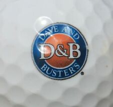 (1) Dave & Busters D&B Gaming Restaurant Logo Golf Ball
