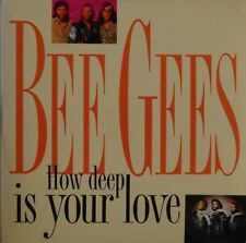 BEE GEES : HOW DEEP IS YOUR LOVE - [ 1992 FRENCH PROMO CD SINGLE EX+ ]