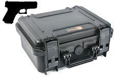 EL1105 Pistol Hand Gun hard Case for Beretta Ruger Smith & Wesson Sig Sauer +
