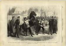 1878 Grand Duke Nicholas War Horse Dronze Balkan Campaign
