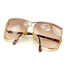 Dior sunglasses Brown Red Woman unisex Authentic Used T419
