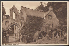 Somerset Postcard - Old Watermill, Dunster   RS2042