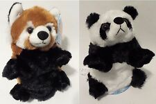 Switch A Rooz Reversible Plush Switcharooz Red Panda Stuffed Bear Kung Pao NWT