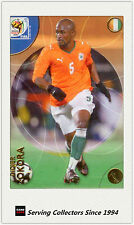 2010 Panini World Cup Soccer Trading Card Common No66 D. Zokora (Cote D'Ivoire)