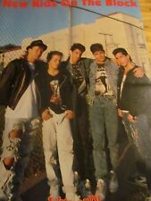 New Kids on the Block, Joey McIntyre, Double Four Page Foldout Poster