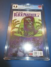 Rise of Black Panther #4 CGC 9.8 NM/M Gorgeous Gem Wow