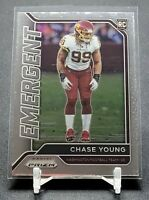 Chase Young 2020 Panini Prizm Rookie Card Emergent RC🔥Washington Football 🏈