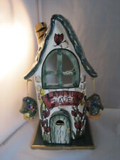 Blue Sky Clayworks Ladybug Tavern Candle House with Tile