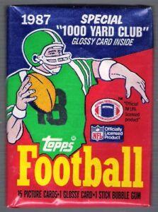 1987 TOPPS FOOTBALL PACK