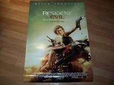 Resident Evil final chapter ORIGINAL 1 one sheet poster V2 Mila Jovovich