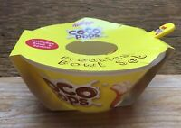 Kellogs Plastic Cereal Bowl & Spoon Set/New/Coco Pops/Advertising/Collectible