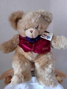 Vintage 1996 Harrods Labelled Rare Teddy Bear