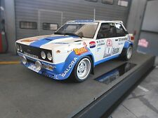 Fiat 131 Abarth Rally 1000 Lakes Finlandia #1 alen bravo Salor top marques 1:18