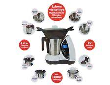 Gourmetmaxx Thermo Multikocher Premium 1500W Kochen Mixen Küchenmaschine 9in1