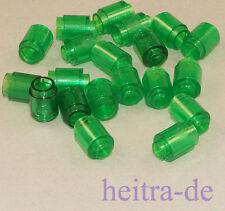 LEGO - 20 x Rundstein 1x1 transparent grün / Rundsteine / 3062b NEUWARE