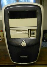 Compaq Presario Legacy Computer Case with Power Supply and Floppy Drive Used