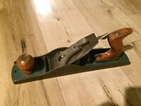 Vintage Green Original Worth Carpenters Woodworking Jack Plane Made in USA