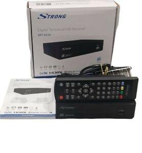 Strong SRT 8114 boitier TNT HD/ récepteur TNT/Adaptateur / Démodulateur