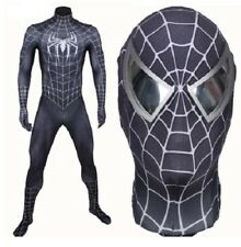 SPIDERMAN 2 BLACK replica,maschera,cosplay,LYCRA 3d printed