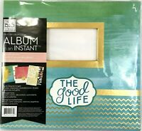 "Me & My Big Ideas ""The Good Life""  Scrapbook In An Instant 20 Pages 12 X 12 New"