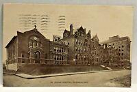 Vintage Postcard Mt Carmel Hospital Columbus Ohio c.1907-1915