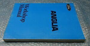 ANGLIA 1959/68 SUPER ESTATE VAN THAMES PREFECT GENUINE FORD NOS WORKSHOP MANUAL