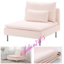 IKEA SODERHAMN 1 Seat Section Chaise Slipcover SAMSTA LIGHT PINK 003.282.91 NEW